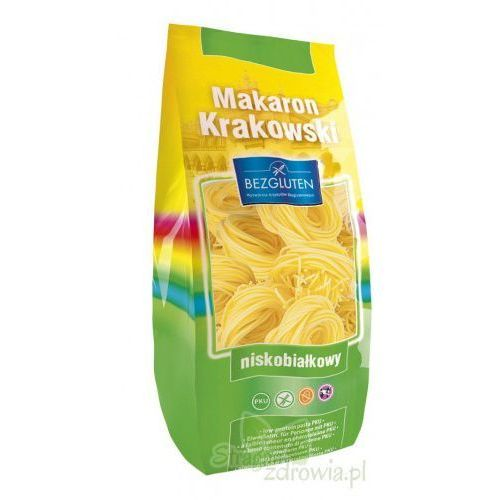 Owy makaron krakowski pku spaghetti 250g bezgluten od producenta Bezgluten