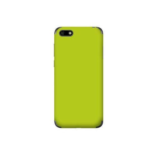 Huawei y5 (2018) - folia na tył ferya skincase - glossy lime green marki 3mk