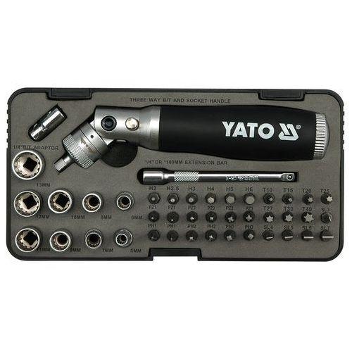 Zestaw wkrętak z grzechotką 42 cz. Yato YT-2806 - ZYSKAJ RABAT 30 ZŁ