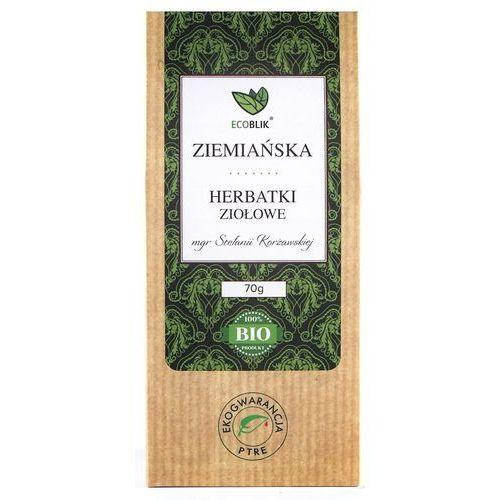 Herbatka Ziemiańska BIO 70 g Herbata Ecoblik