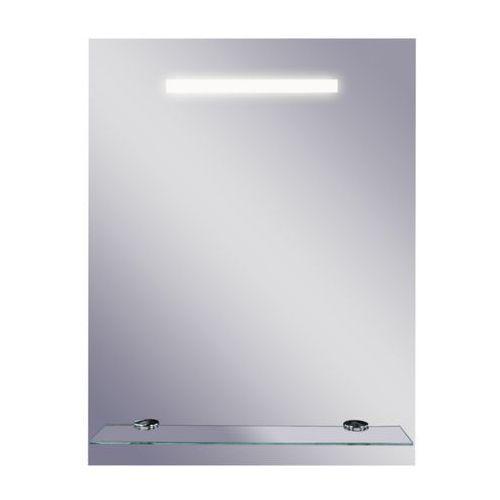 Lustro łazienkowe z oświetleniem wbudowanym LINEA II 50 x 65 DUBIEL VITRUM