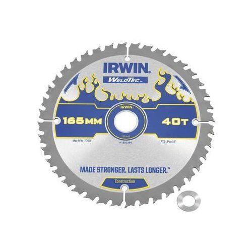 Irwin weldtec Tarcza do pilarki tarczowej 165mm/40t c/20(16) śr. 165 mm 40 z