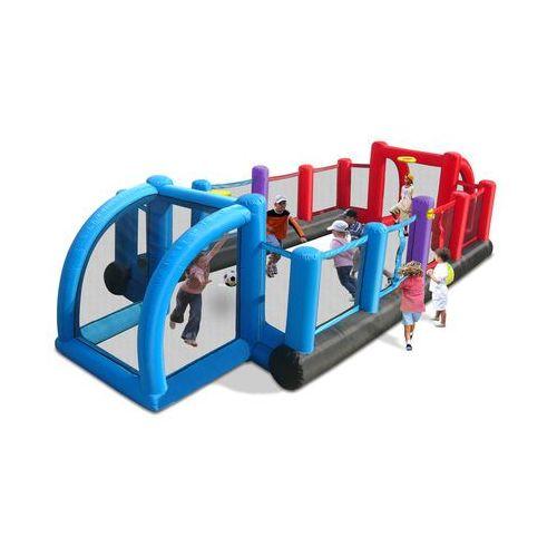 Happyhop Dmuchany plac zabaw boisko 3w1. Najniższe ceny, najlepsze promocje w sklepach, opinie.