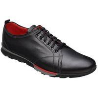 Półbuty sneakersy 4958-1-1 czarne, Krisbut