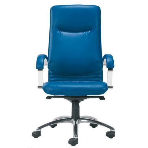 Fotel gabinetowy NOVA steel04 alu/chrome - biurowy, krzesło obrotowe, biurowe