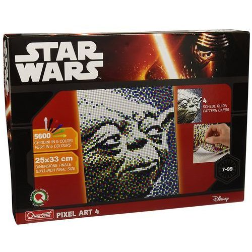 Quercetti Mozaika pixel art 4 star wars yoda 5600 elementów
