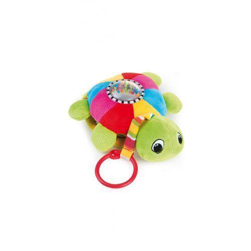 CANPOL Pluszowa zabawka edukacyjna z pozytywką - żółw morski, 68/019