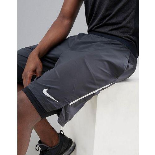distance 9 inch 2-in-1 shorts in black aq0053-010 - black marki Nike running