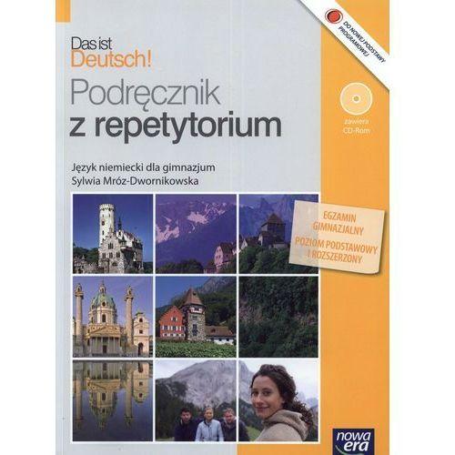 Das ist Deutsch! Gimnazjum. Język niemiecki. Podręcznik z repetytorium (+CD) (260 str.)
