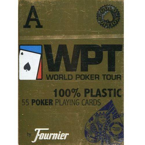 Fournier WPT 100% plastic złota edycja (8420707451141)