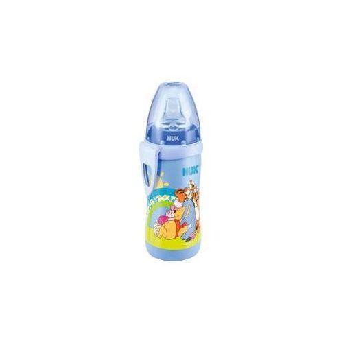 Kubek niekapek  active cup kubuś puchatek 300ml, niebieski marki Nuk