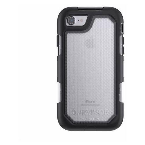 Pancerna obudowa Griffin Survivor Summit Apple iPhone 7 Przezroczysty