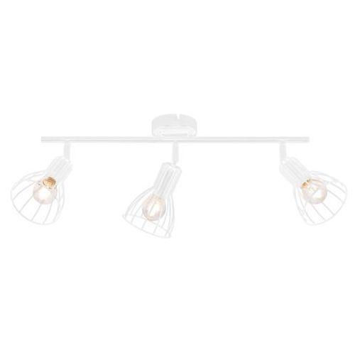 Listwa lampa oprawa sufitowa Spot Light Megan 3X60W E14 biała 2743302, kolor Biały
