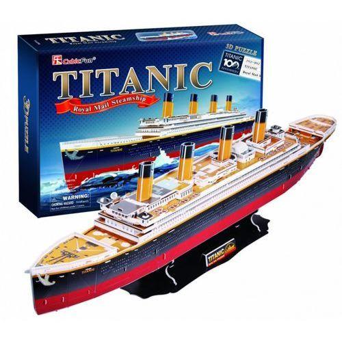 Cubic fun Puzzle 3d duży zestaw. statek titanic