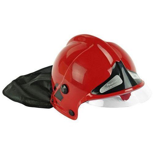 8901 kask hełm strażacki msa z opuszczaną szybką czerwony marki Klein