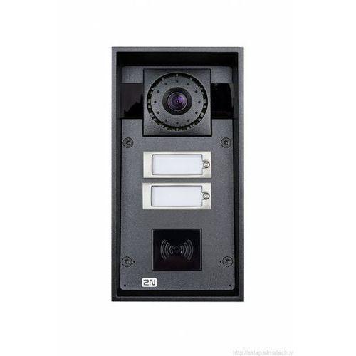 helios ip force domofon dwuprzyciskowy, kamera hd, możliwość rfid marki 2n