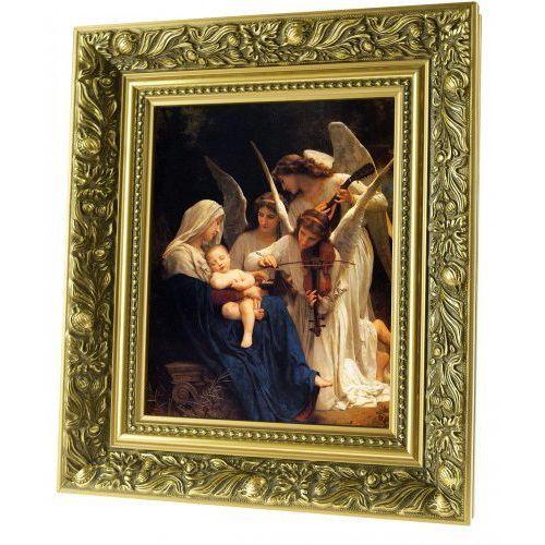 Obraz ceramiczny Matka Boża z dzieciątkiem i aniołami, ACH525