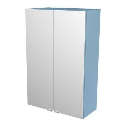 Szafka z lustrem GoodHome Imandra 60 x 90 x 36 cm niebieska (3663602933625)