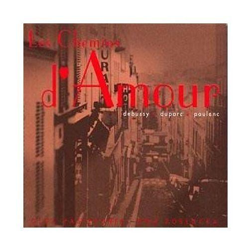 Les chemins d'amour-debussy, duparc, po - olga & ewa pobłocka pasiecznik (płyta cd) marki Empik.com