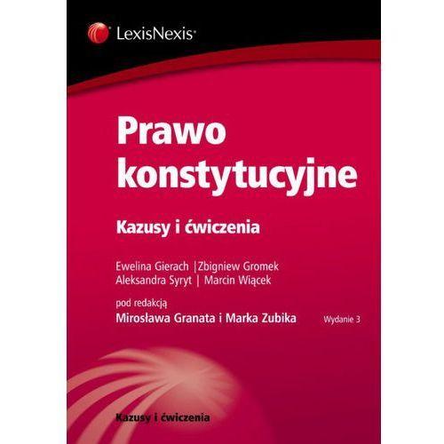 Prawo konstytucyjne Kazusy i ćwiczenia (9788378064107)