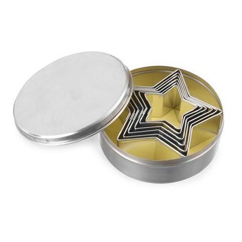 Forma do wycinania w kształcie gwiazdy o średnicy 45-90 mm, 6 szt. | HENDI, 675106