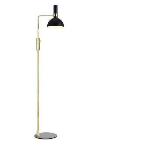 Markslojd Lampa podłogowa oprawa stojąca larry 1x60w e27 czarny/złoty 106972 >>> rabatujemy do 20% każde zamówienie!!!