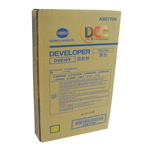Konica minolta developer / wywoływacz yellow dv-616y, dv616y, a5e7700