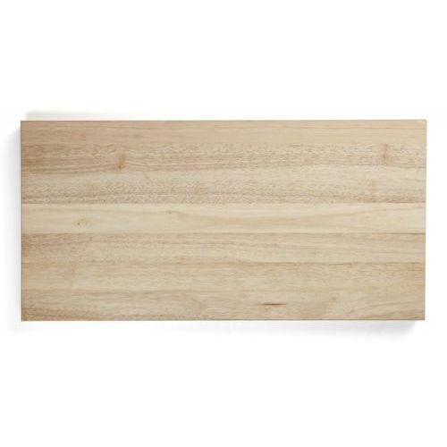 Deska z naturalnego drewna do krojenia, wymiary 60x30x4 cm, exxent 78511 marki Merx team