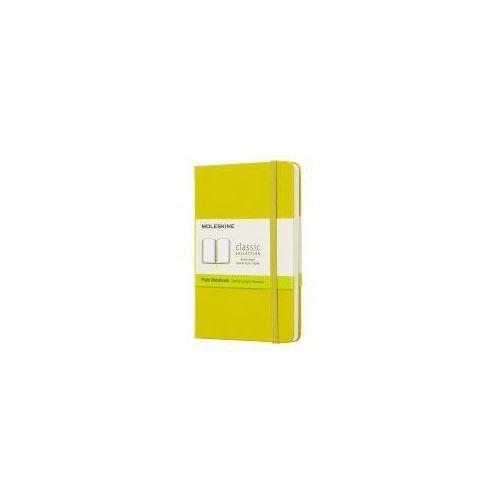 Moleskine Notatnik classic p gładki, twarda oprawa, żółty