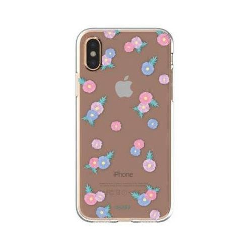 Etui FLAVR iPlate Tiny Flowers do Apple iPhone X Wielokolorowy (30045), kolor wielokolorowy