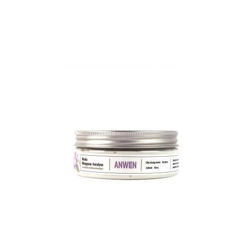 , maska do włosów o średniej porowatości, winogrona i keratyna, 200ml marki Anwen