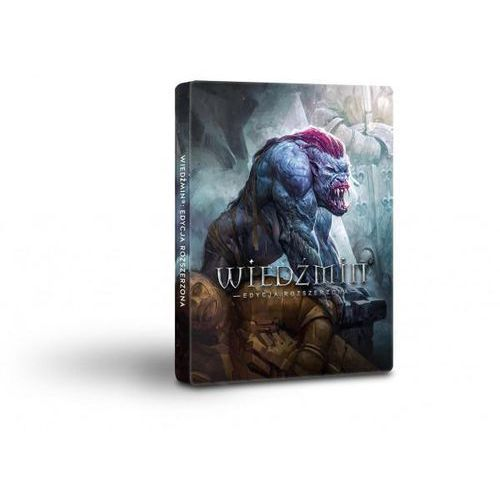 Cd projekt Wiedźmin 1. edycja rozszerzona - edycja 10-lecia steelbook