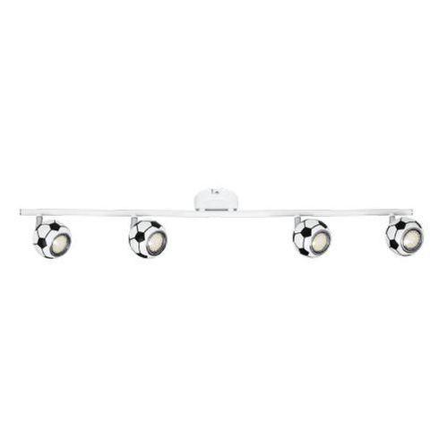 Spotlight Listwa lampa oprawa sufitowa spot light play 4x4.5w gu10 led biało/czarna 2500404 (5901602323922)