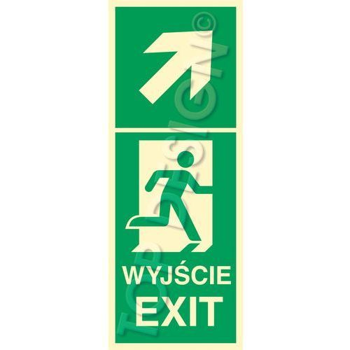 Top design Kierunek do wyjścia w prawo w górę prawostronny / right and up to exit right side
