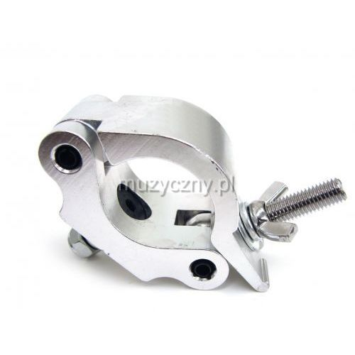 Duratruss  pro clamp 50mm 500kg half coupler - hak aluminiowy - obejma na rurę fi 50mm