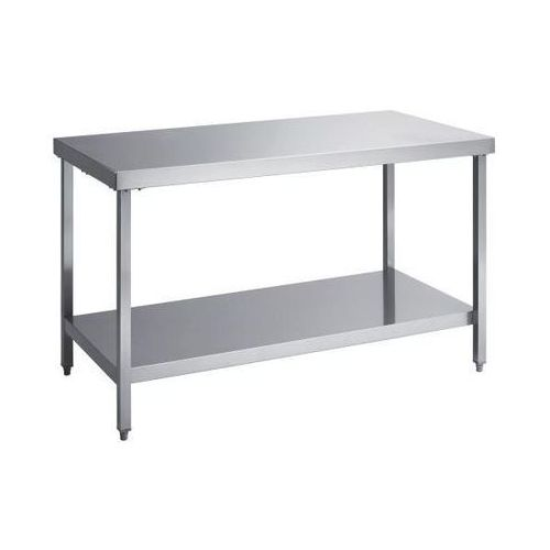 Köhler Stół roboczy ze stali szlachetnej, wys. robocza 850 mm, szer. x głęb. 1400x700 m