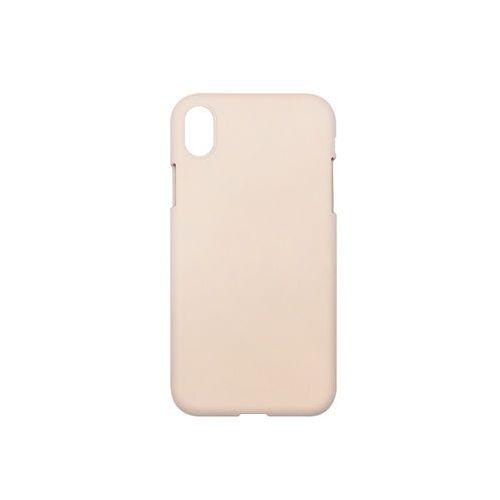 Apple iPhone XR - Mercury Goospery Soft Feeling - piaskowy róż, ETAP784GMSFPIA000