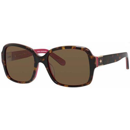 Okulary słoneczne annora/p/s polarized 0s0u/vw marki Kate spade