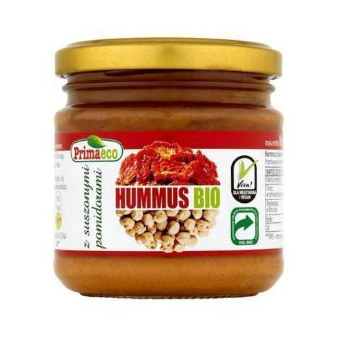 160g hummus z suszonymi pomidorami bio marki Primaeco
