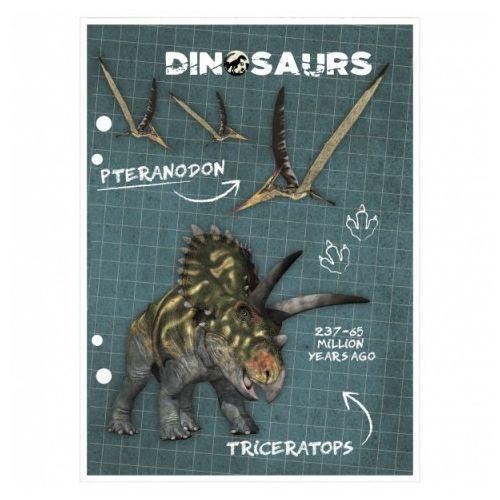 Wkład do segregatora A6 Dinozaur (5901130048533)