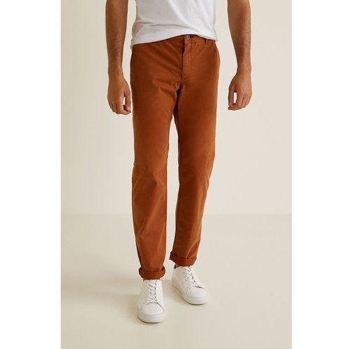 Mango man - spodnie barna3