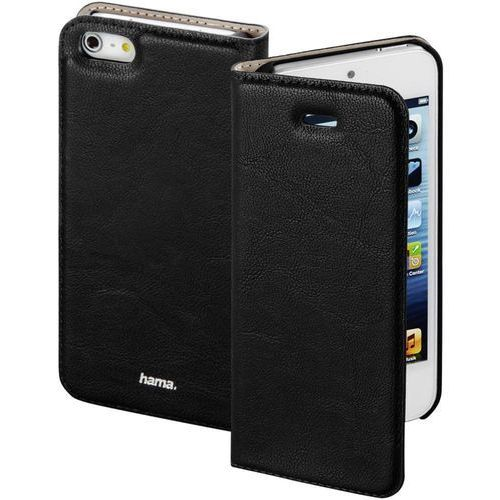 Hama Etui na smartfon  guard case booklet do apple iphone 5/5s/se czarny (4047443313546)