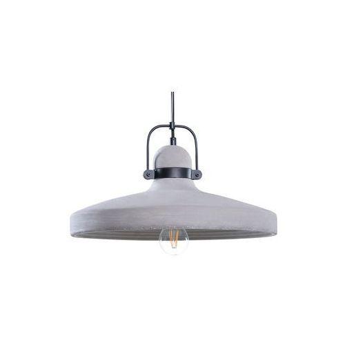 Beliani Lampa szara - sufitowa - żyrandol - lampa wisząca - noatak