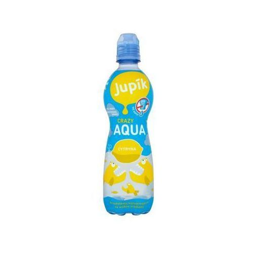 Hoop Napój niegazowany jupik aqua cytryna 500 ml (8594003843815)