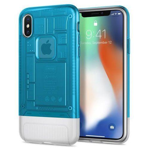 Spigen sgp etui iphone x classic c1 blueberry - edycja limitowana (8809613760101)