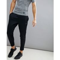 therma tapered joggers in black 800193-010 - black marki Nike training