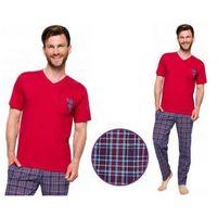 Piżama męska tymon: bordo marki Taro