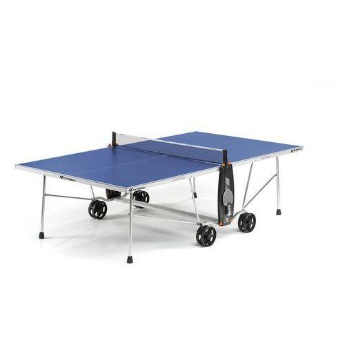 Stół tenisowy SPORT 100S CROSSOVER OUTDOOR Niebieski + 2 rakietki i 3 piłeczki GRATIS!, 131725