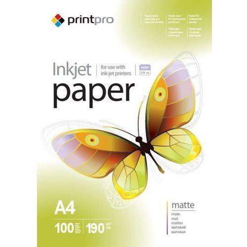 Arsej papier fotograficzny matowy a4 190 g/m 100 szt marki Printpro