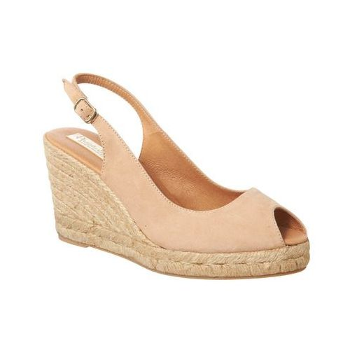 suede sling back wedge espadrille marki Phase eight